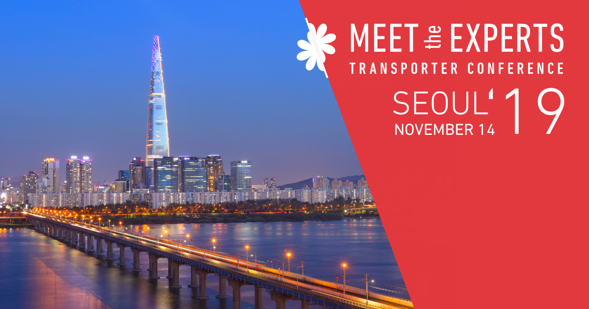 Meet the Experts Transporter Conference Seoul 2019